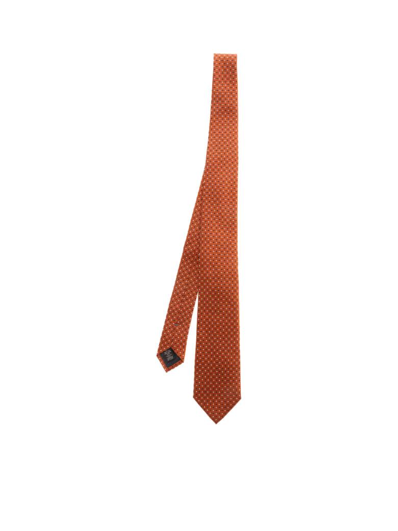 Ermenegildo Zegna Silk - A Orange Fant.
