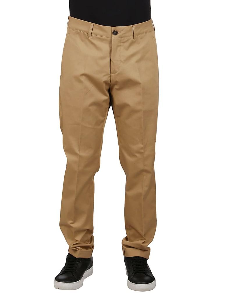 Golden Goose Beige Cotton Trousers - Beige