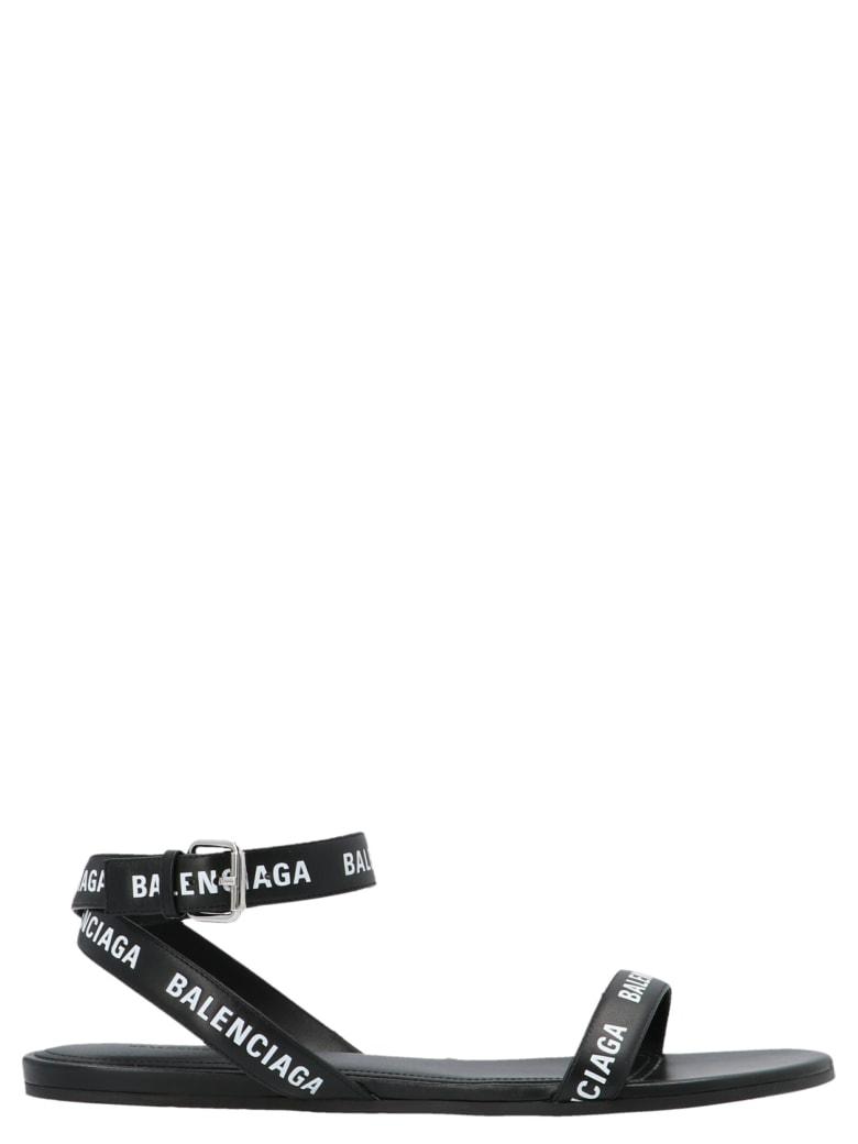 Balenciaga 'round' Shoes - Bianco nero