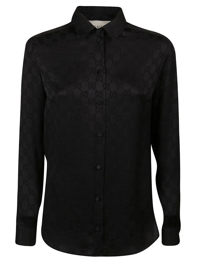 Gucci Logo Shirt - Black