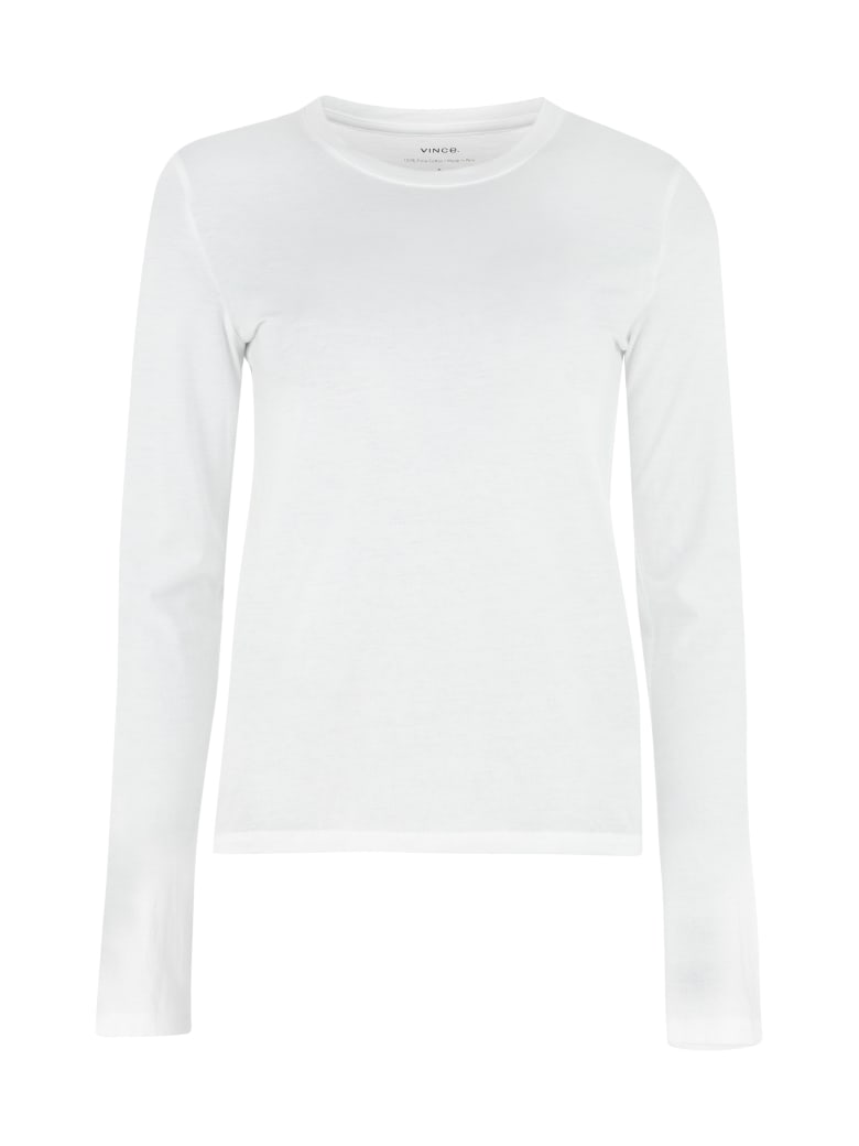 Vince Cotton T-shirt - White