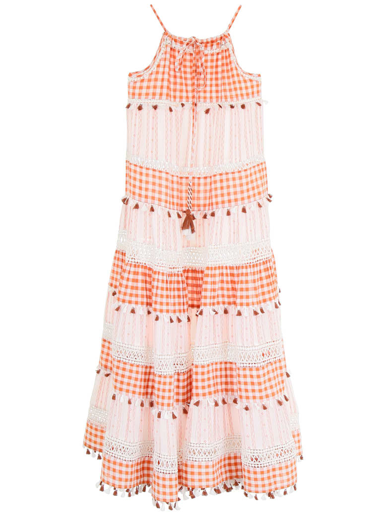 Dodo Bar Or Patricia Dress - RUST (White)