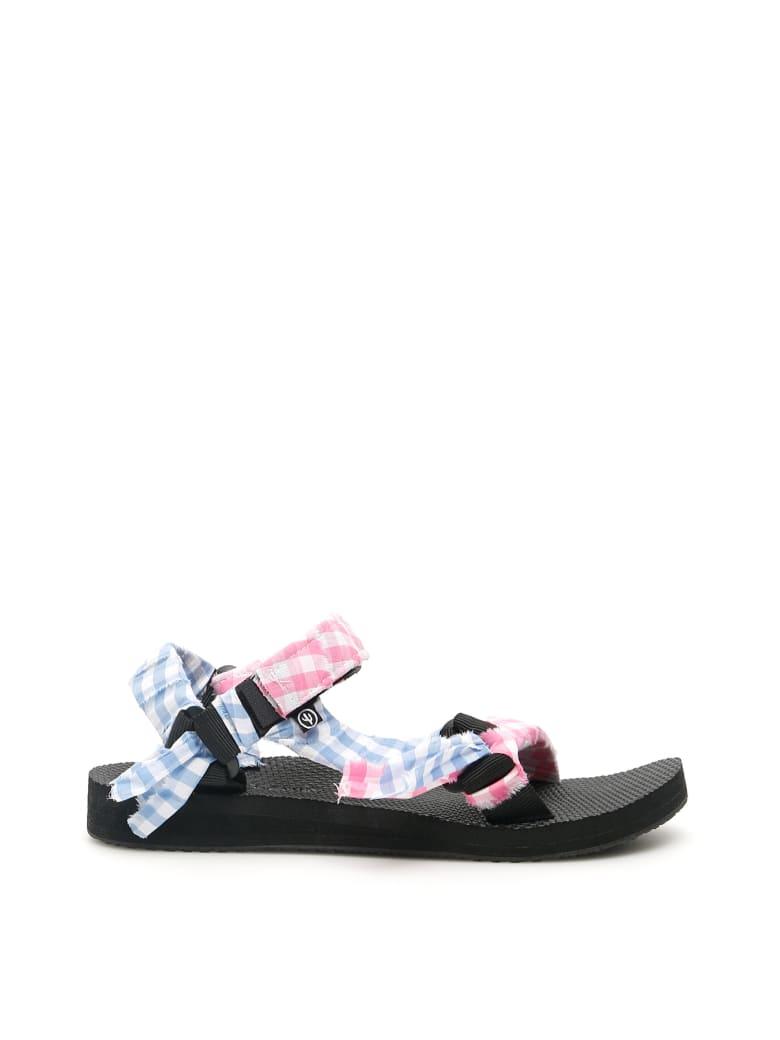 Arizona Love Bandana Trekky Sandals - PINK LT BLUE (White)