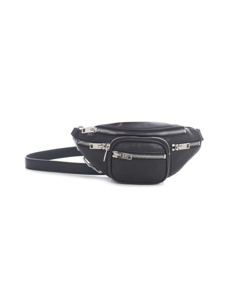 Alexander Wang Attica Soft Mini Fanny Pack Xbody Black Lamb Nappa Ir - Black