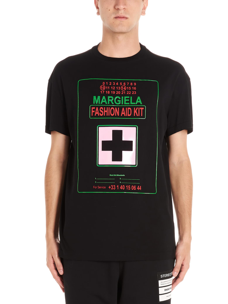 Maison Margiela 'medical Fit' T-shirt - Black
