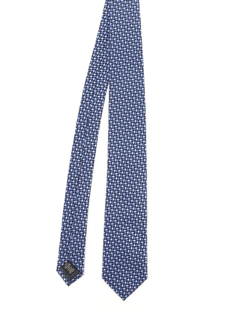 Ermenegildo Zegna Tie - F Blue