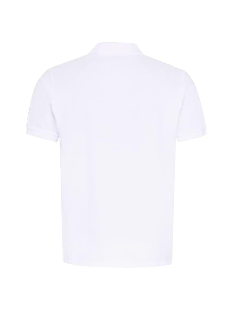 Maison Kitsuné Cotton Piqué Polo Shirt - White