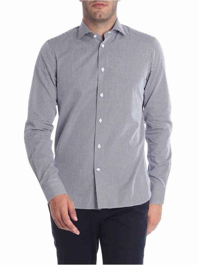 G. Inglese Cotton Shirt - Blue