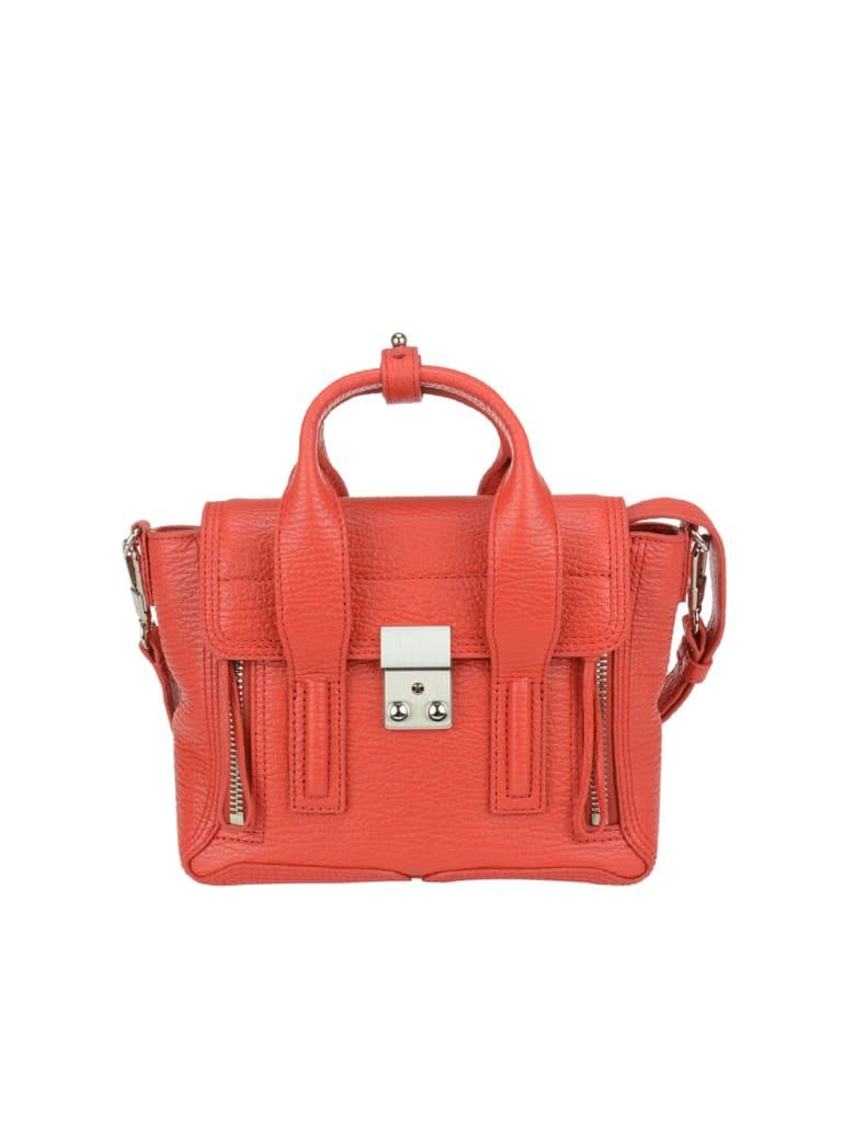 3.1 Phillip Lim Pashli Mini Satchel Bag - Red