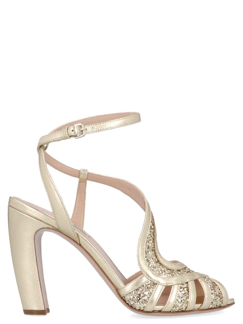 Miu Miu Shoes - Gold