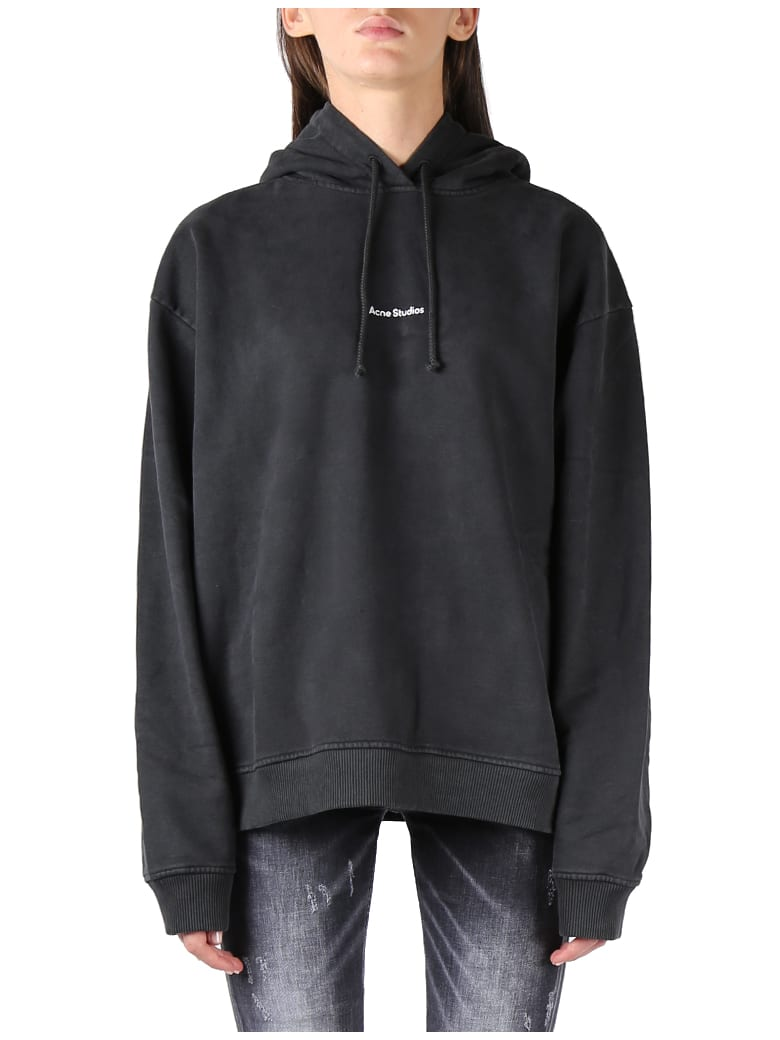 Acne Studios Oversized Sweatshirt With Logo