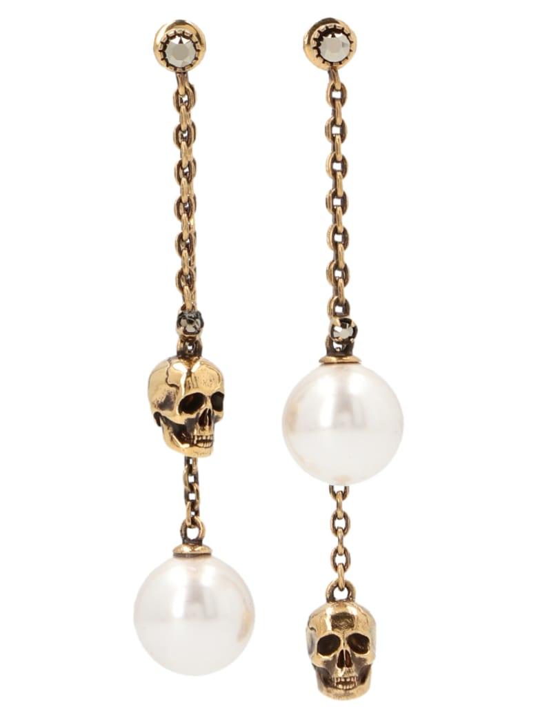 Alexander McQueen 'pearly' Earrings - Oro