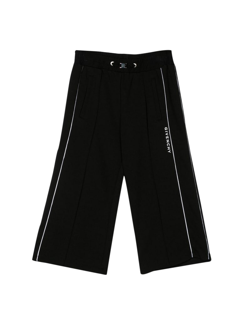 Givenchy Kids Wide Leg Trousers - Nero