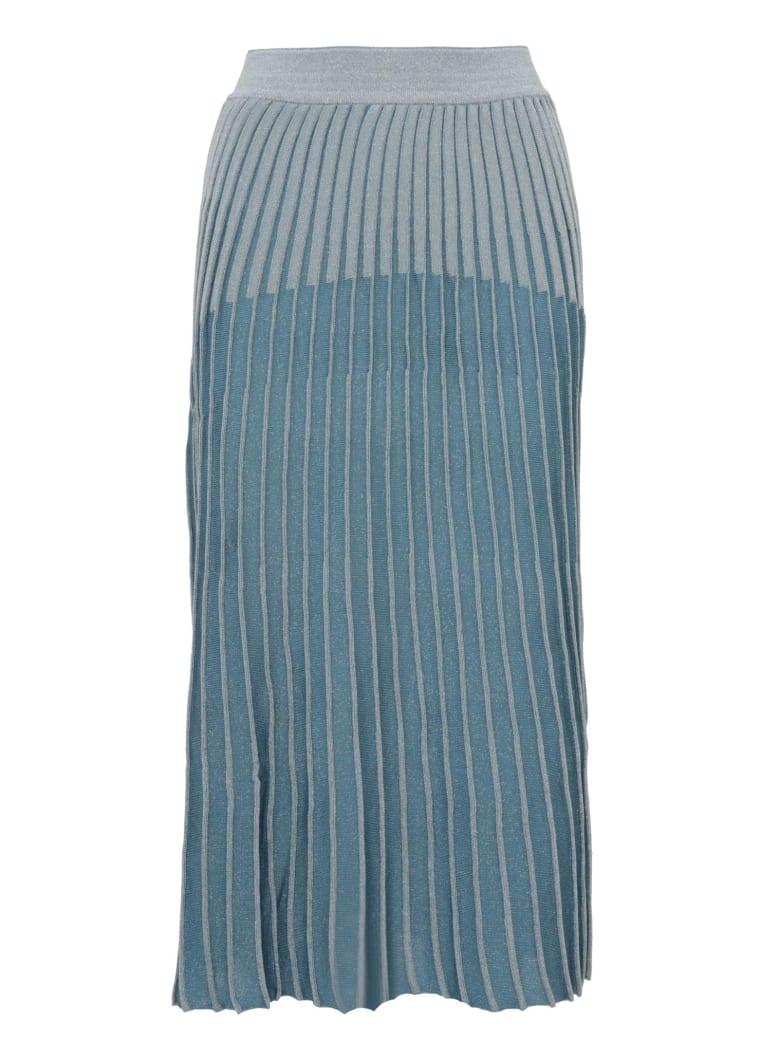 Balmain Paris Skirt - Light blue