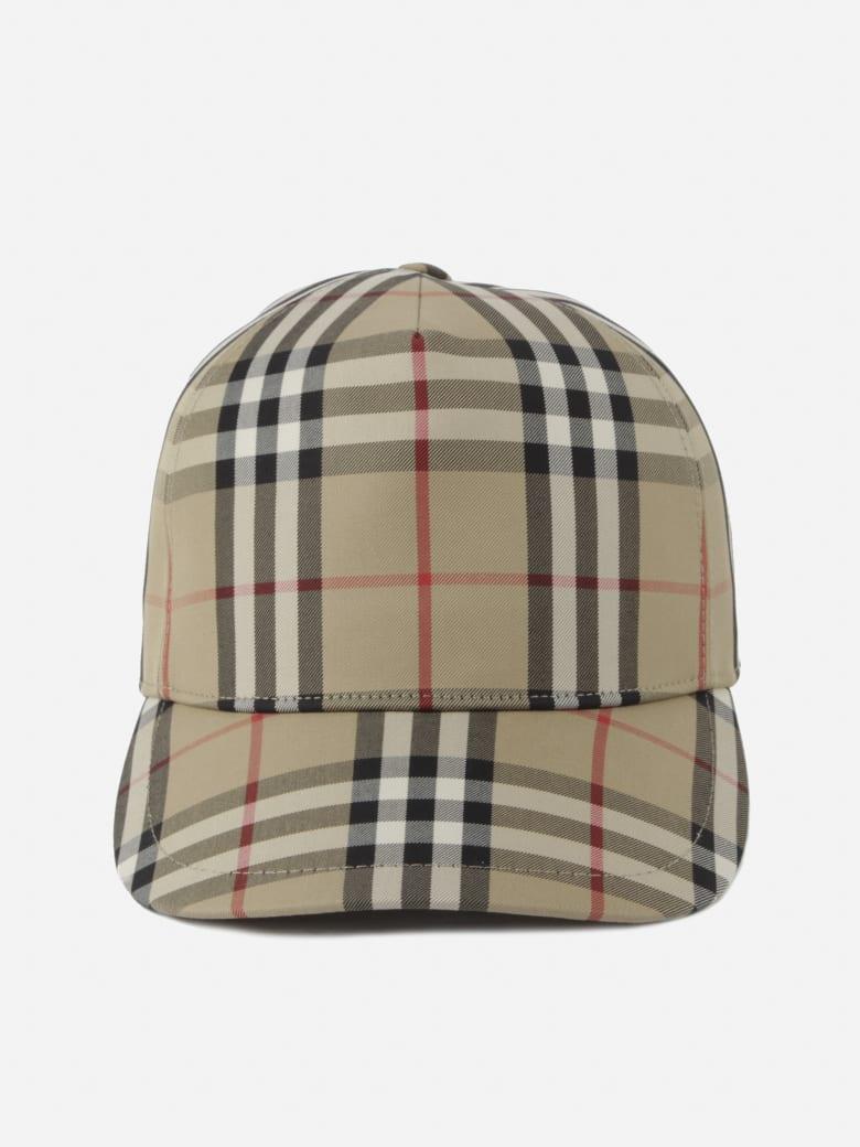 Burberry Vintage Check Baseball Cap - Beige