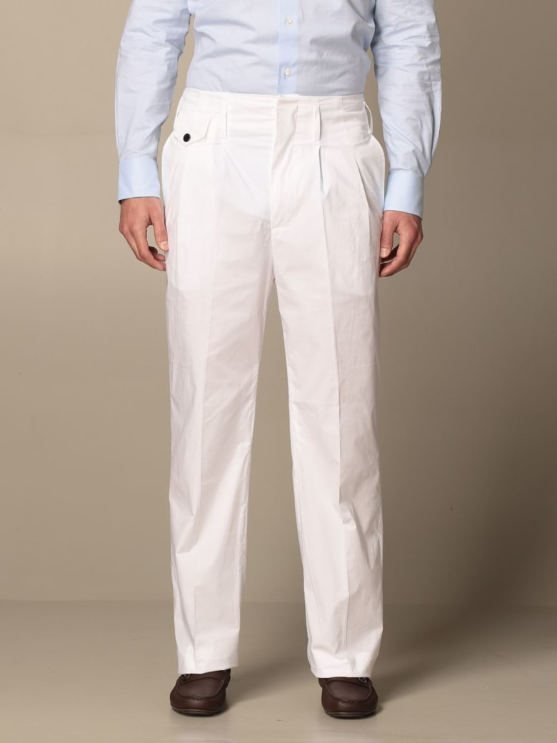 Department 5 Pants Pants Women Department Five - White