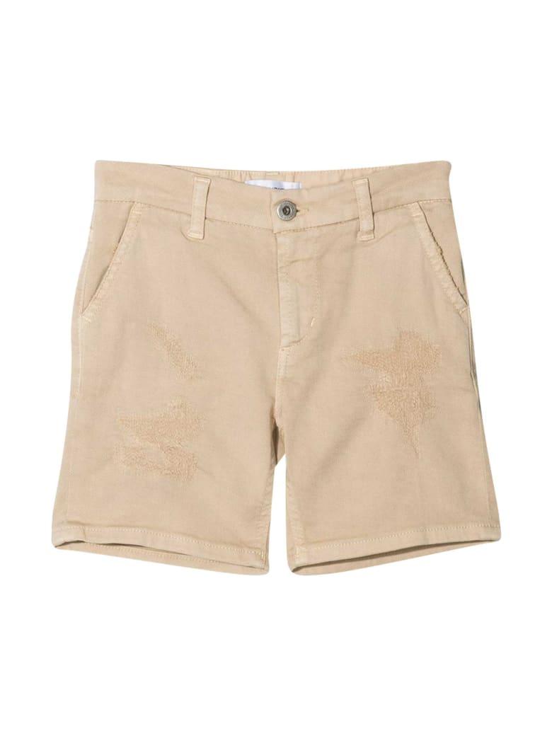 Dondup Beige Bermuda Shorts - Beige