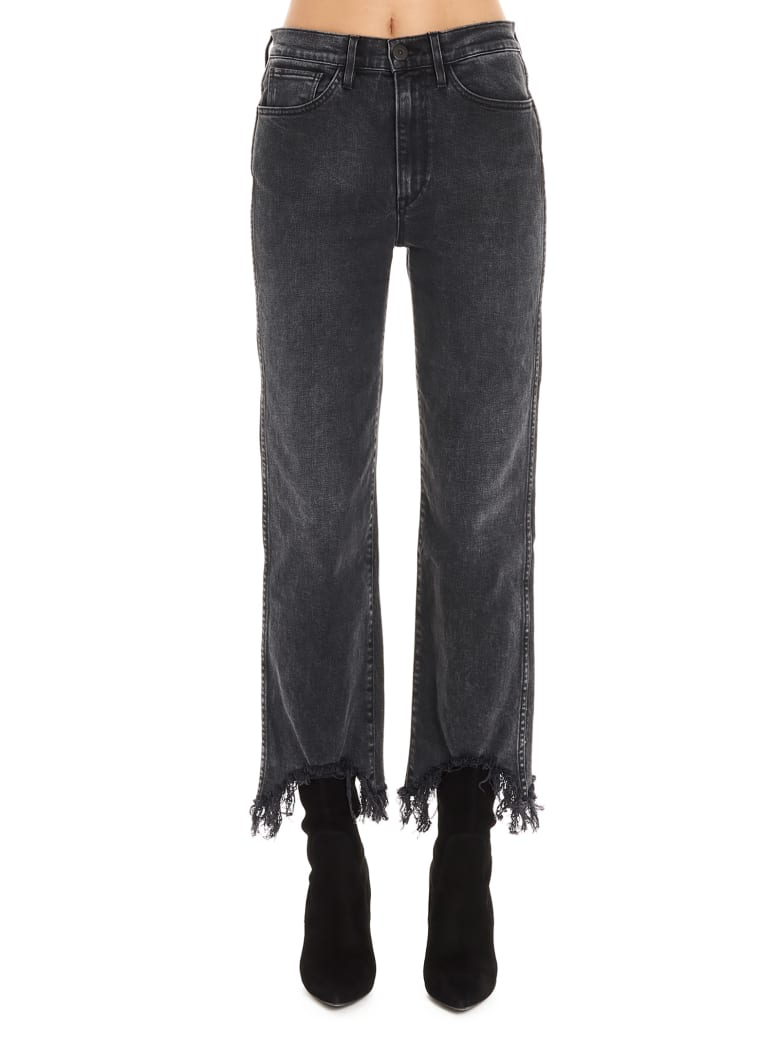 3x1 'austin Crop' Jeans - Grey