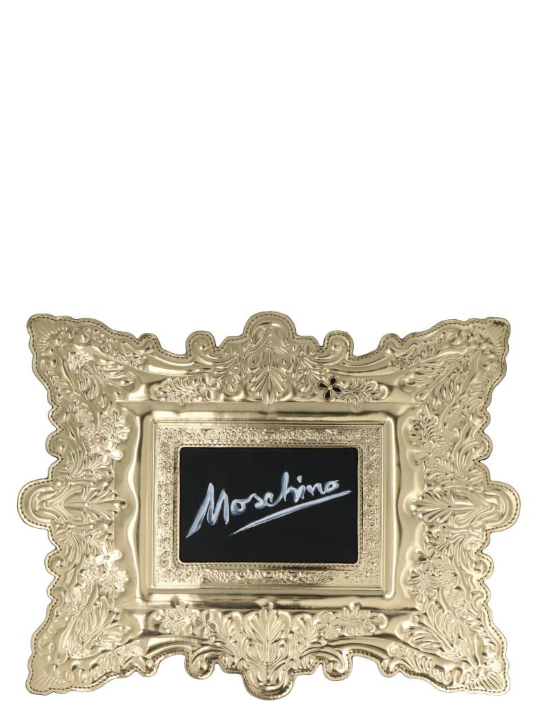 Moschino 'cornice' Bag - Gold