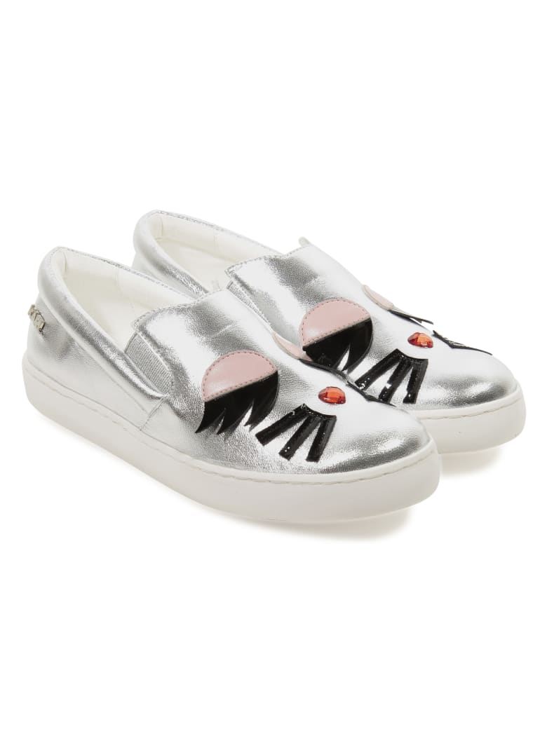 Karl Lagerfeld Shoes - Silver