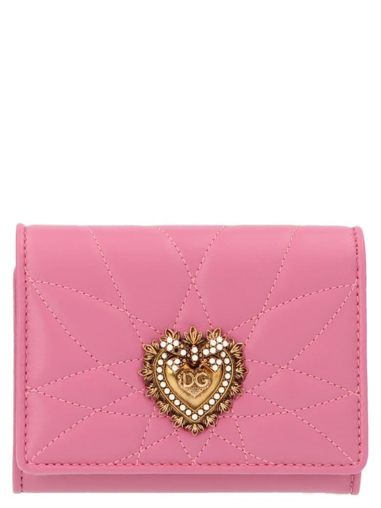 Dolce & Gabbana 'devotion' Wallet - Pink
