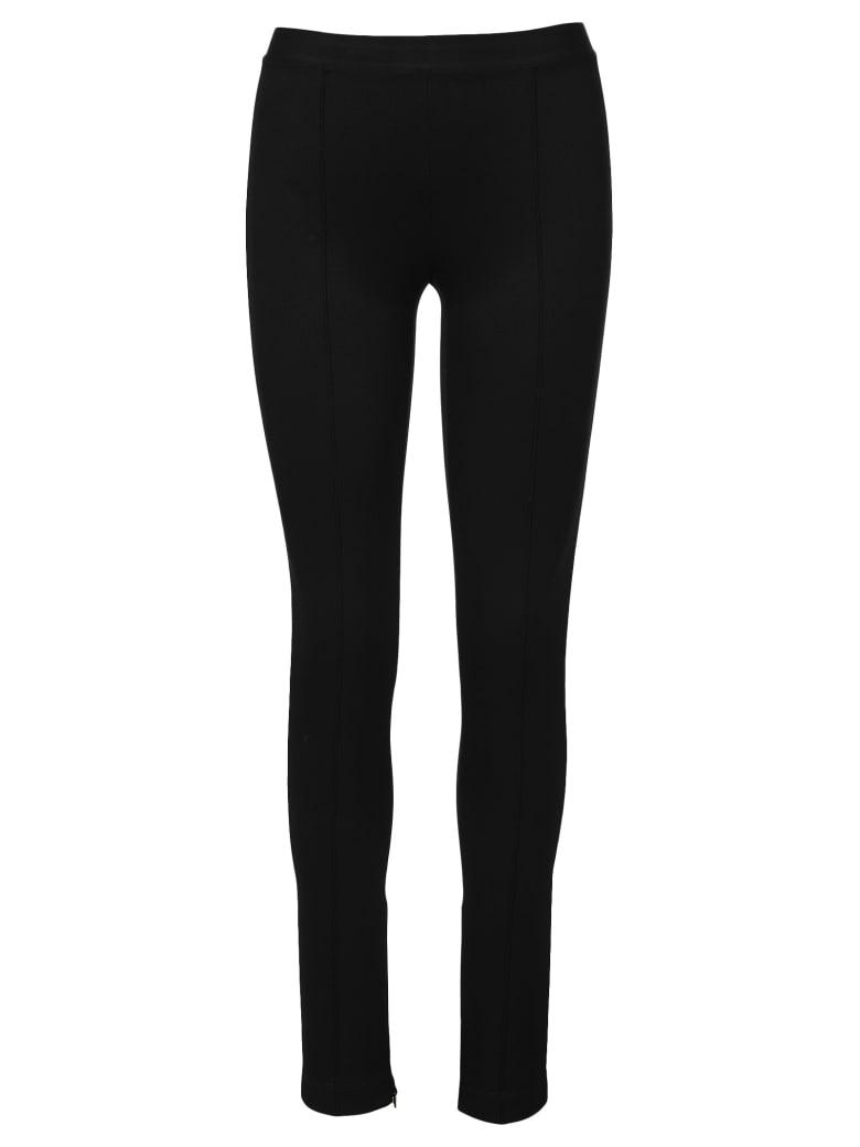 Helmut Lang High Waistid Leggings - BLACK