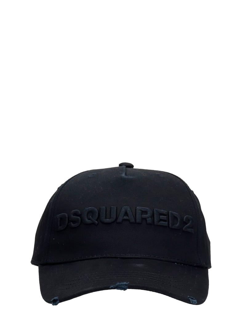Dsquared2 Hats In Black Cotton - BLACK