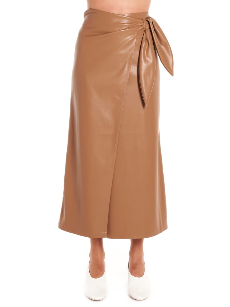 Nanushka 'amas' Skirt - Brown