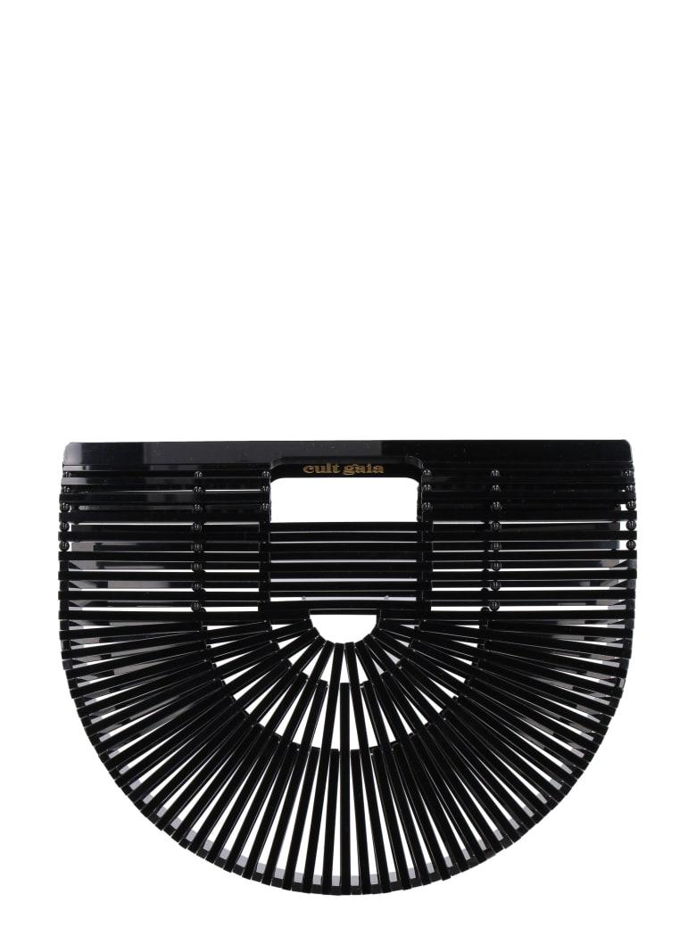 Cult Gaia Acrylic Ark Small Handbag - black