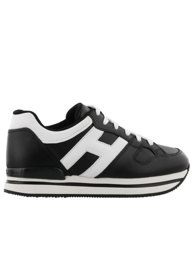 Hogan H222 Sneaker - Black/white