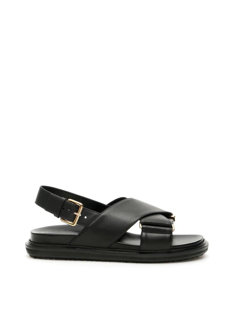 Marni Fussbett Sandals - BLACK (Black)