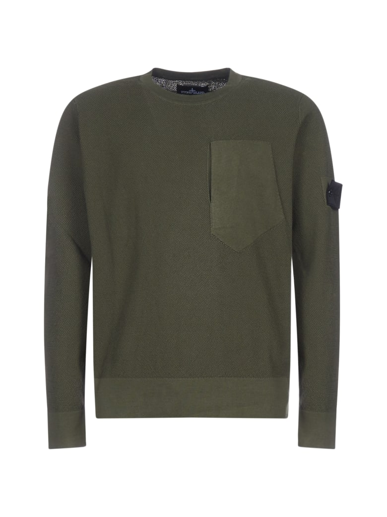 Stone Island Shadow Project Sweater - Verde militare