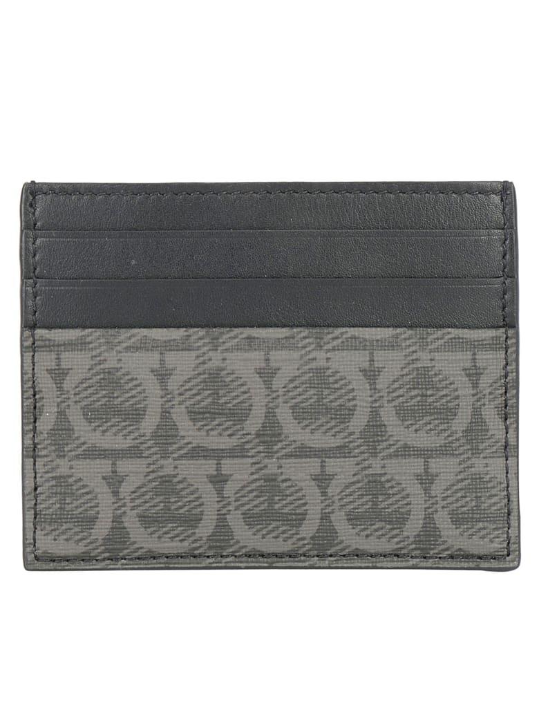 Salvatore Ferragamo Card Holder - Nero grigio