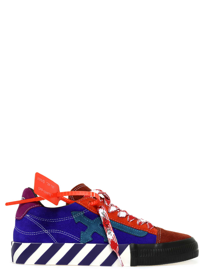 Off-White 'diag Low Vulcanized' Shoes - Multicolor