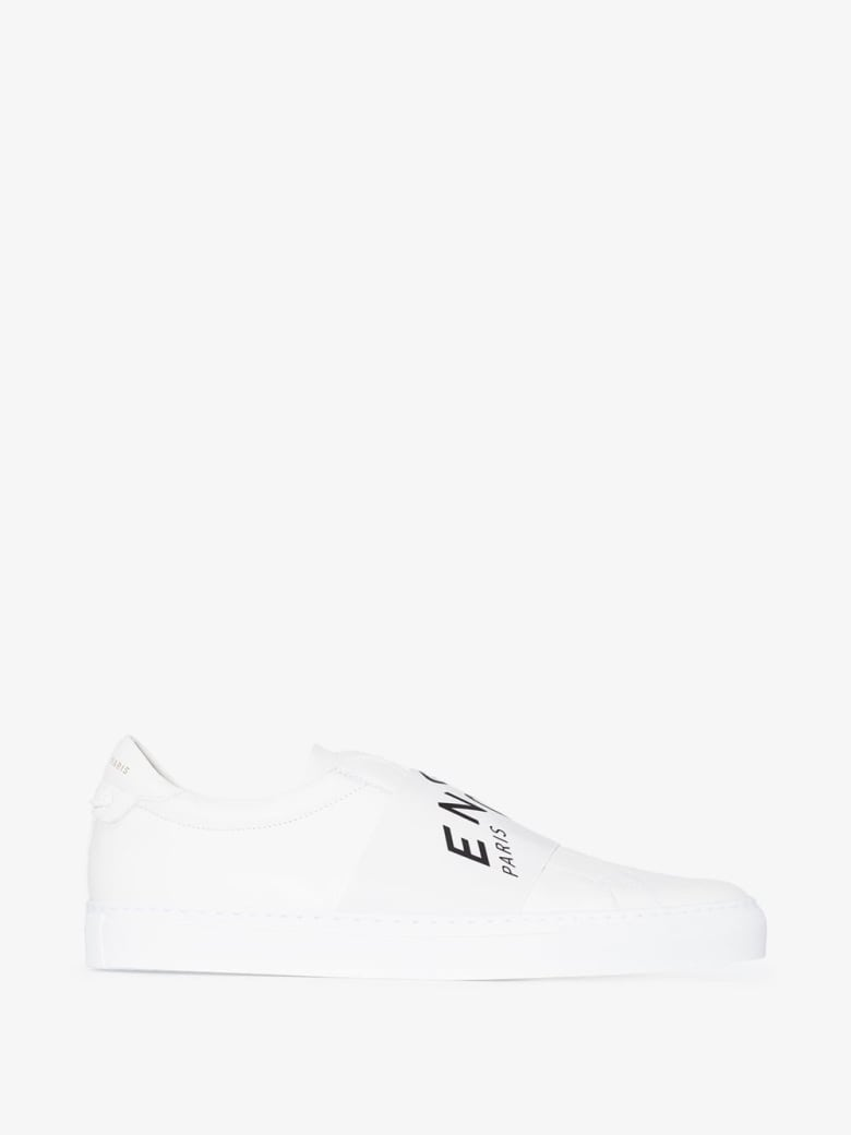 Givenchy Urban Sneakers In White Leather With Logo - White
