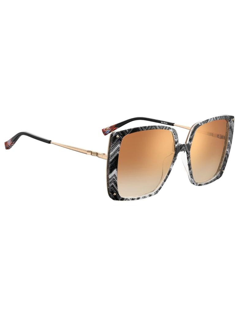 Missoni MIS 0002/S Sunglasses - /jl Whtebk Pttrn