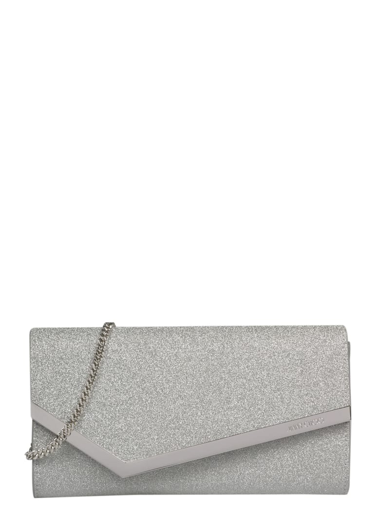 Jimmy Choo Emmie Clutch - Metallic