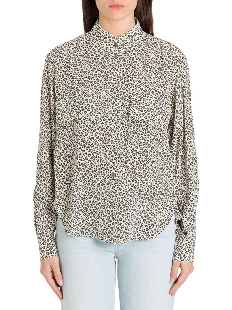 Frame Leopard Shirt - Beige