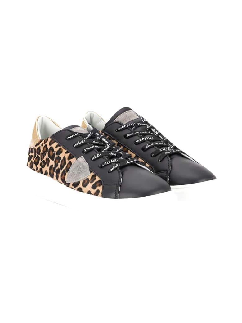 Philippe Model Balo Teen Sneakers - Beige