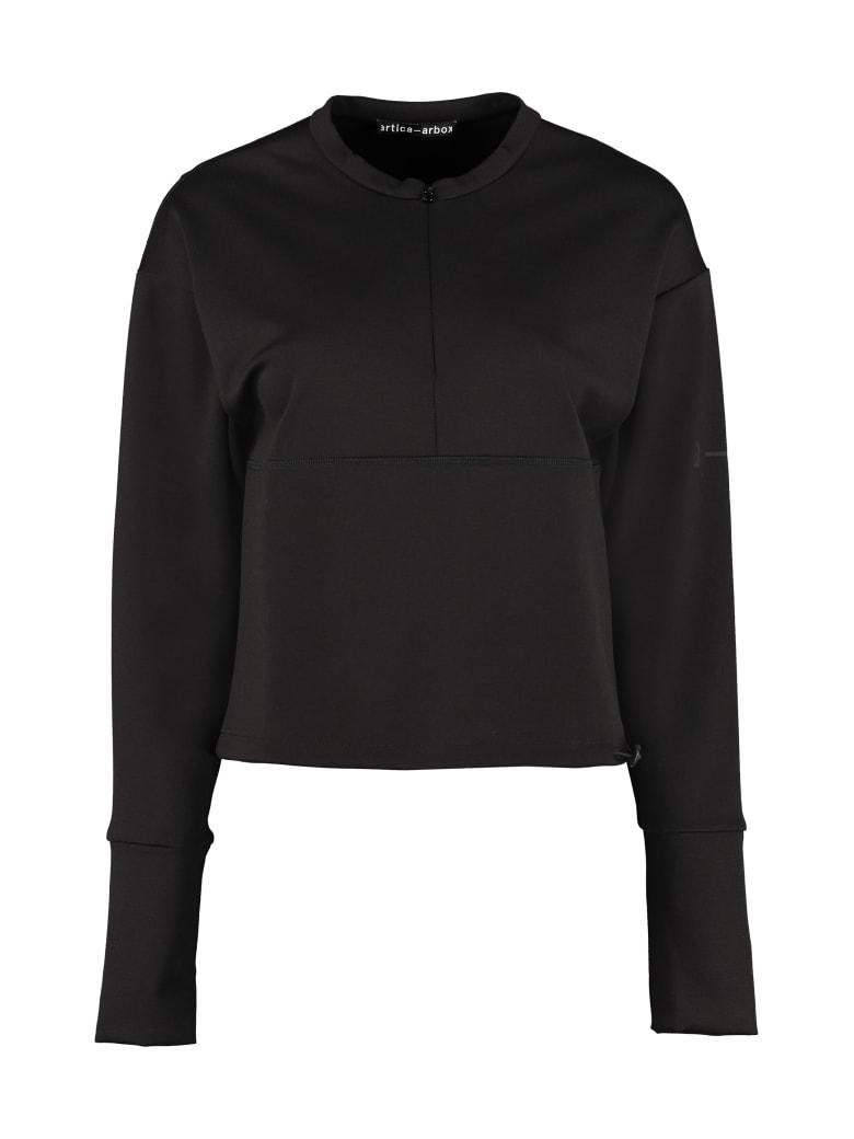 Artica Arbox Cotton Top With Logo - black