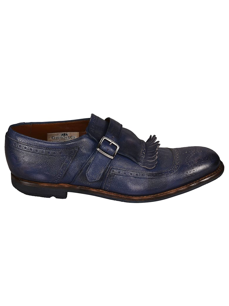 Church's Fringed Monk Shoes - Blu