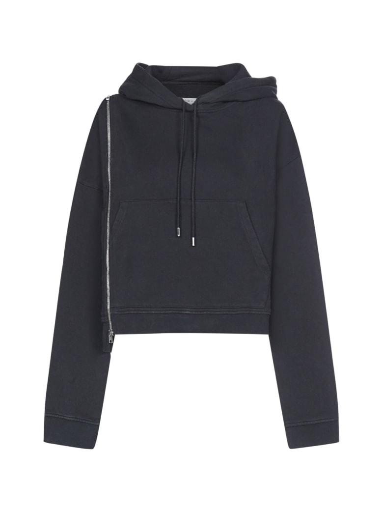 Maison Margiela Hoodie Multizip Fleece - Black