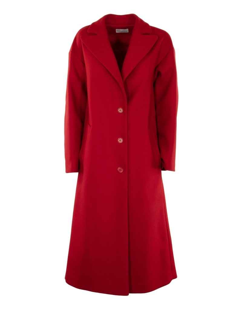 low priced e162b 7b13f RED Valentino Cappotto Rosso