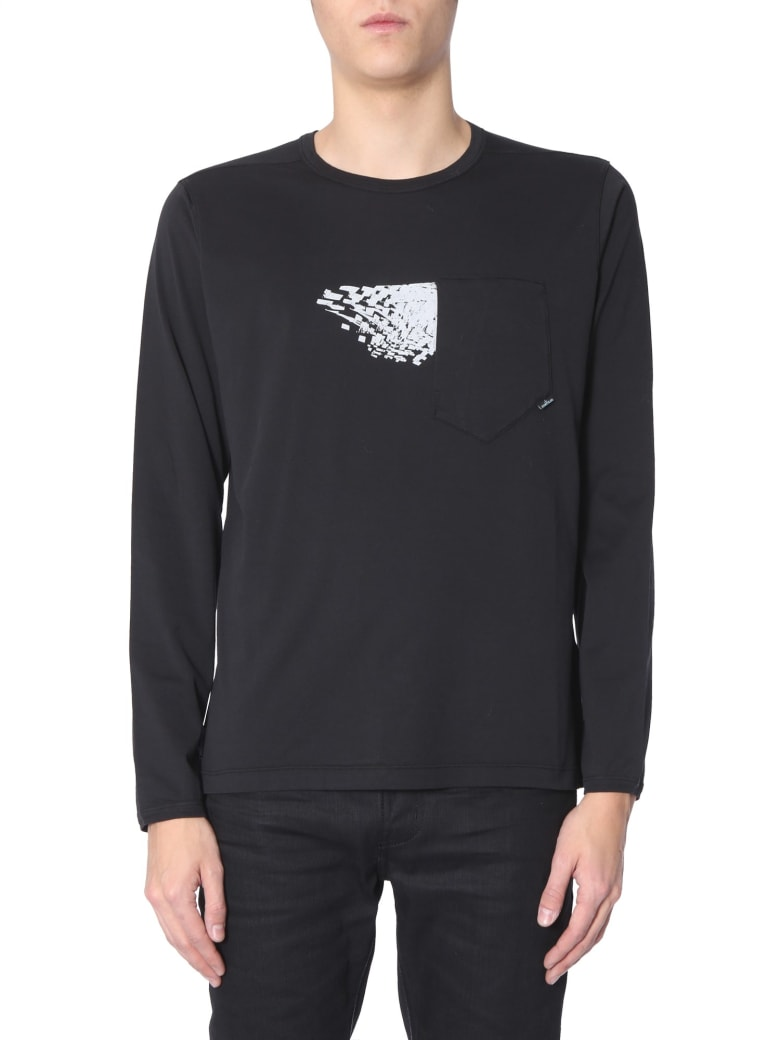 Stone Island Shadow Project Long Sleeve T-shirt - NERO