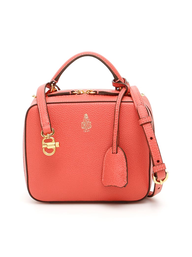 Mark Cross Baby Laura Bag - RED CLAY (Pink)