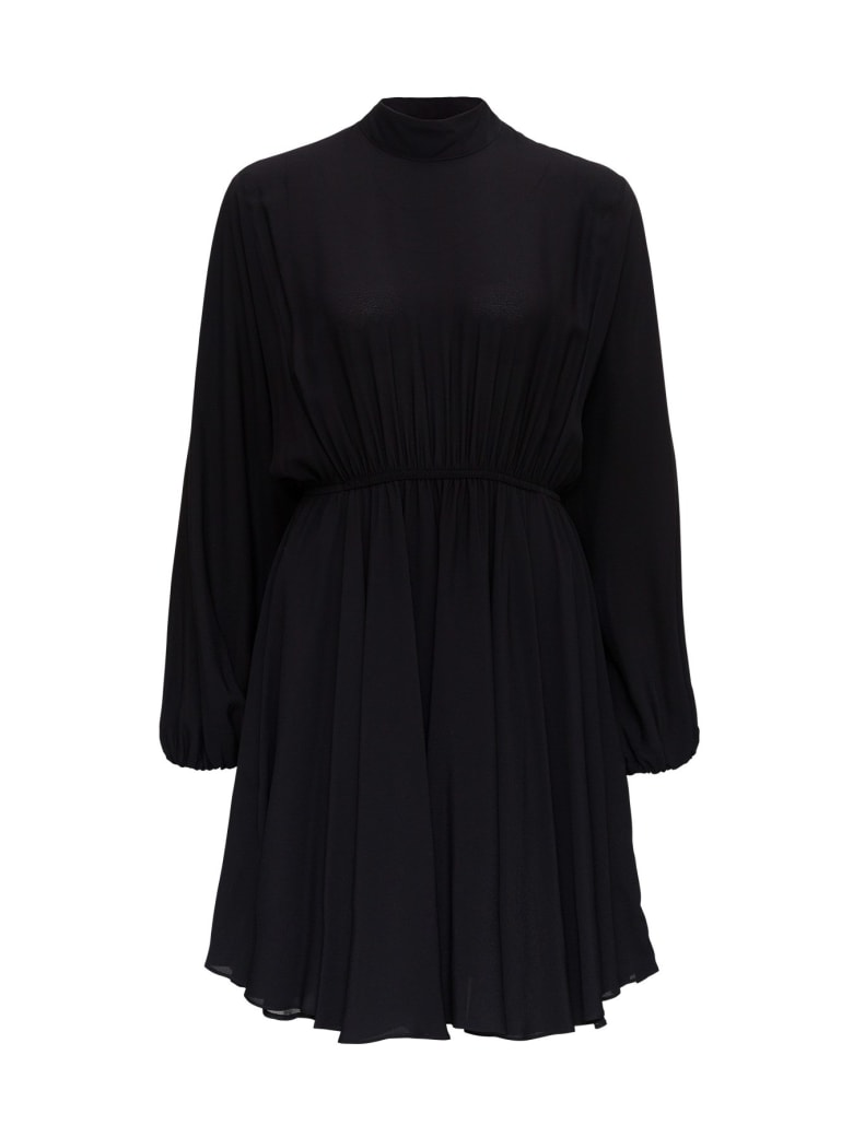 Tessa Viscose Dress - Black