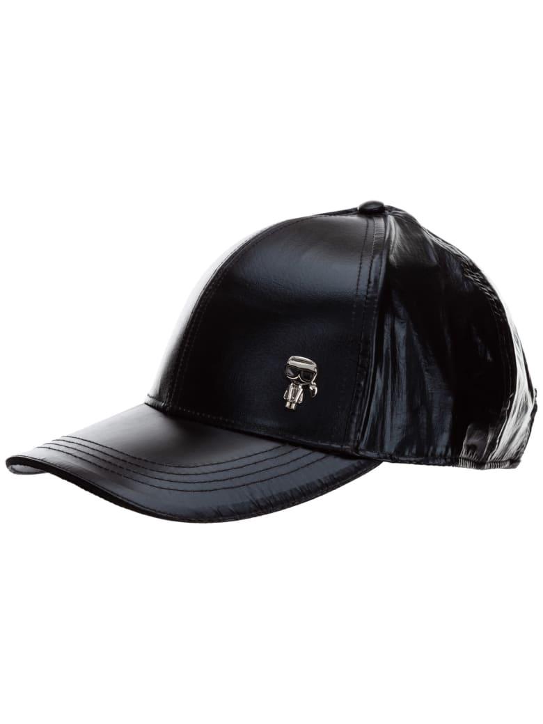 Karl Lagerfeld K/ikonik 3d Baseball Cap - Nero