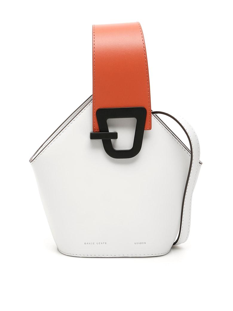 DANSE LENTE Mini Johnny Bag - ICE ROSEWOOD (White)