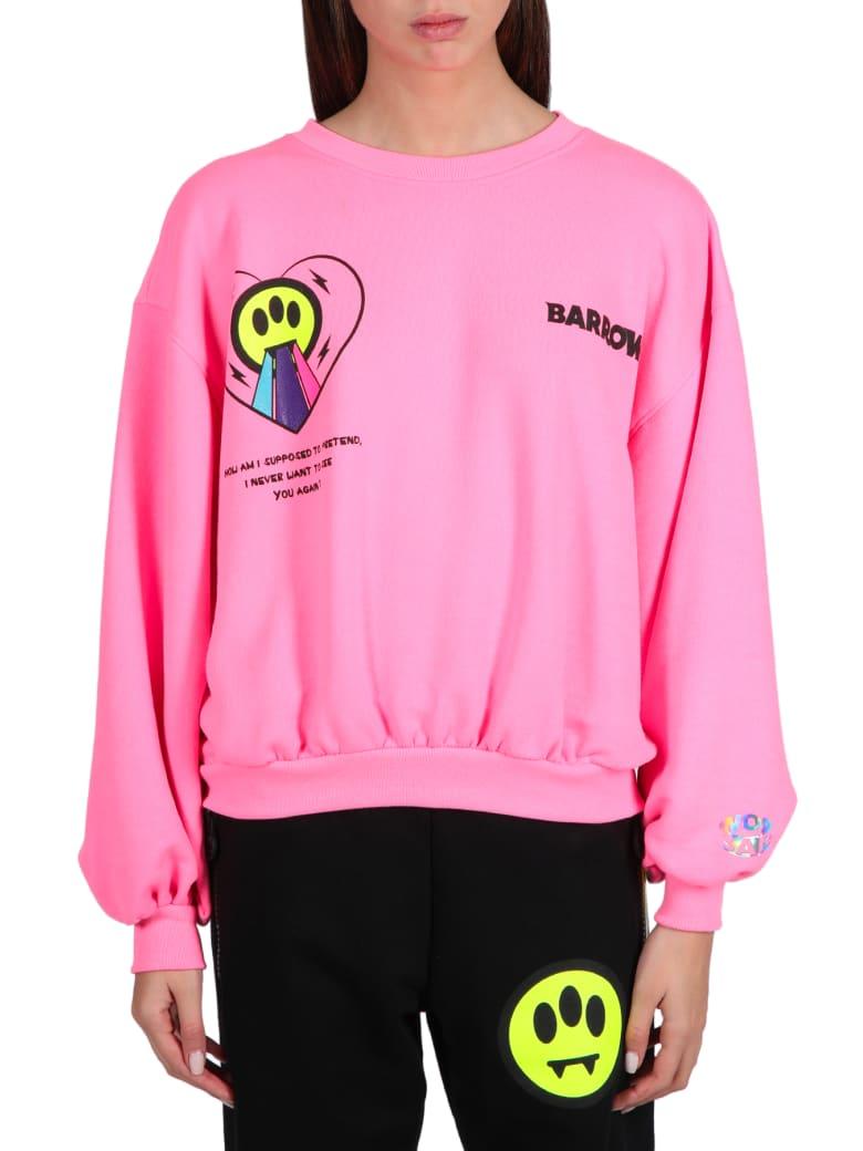 Barrow Logo Sweatshirt - Rosa