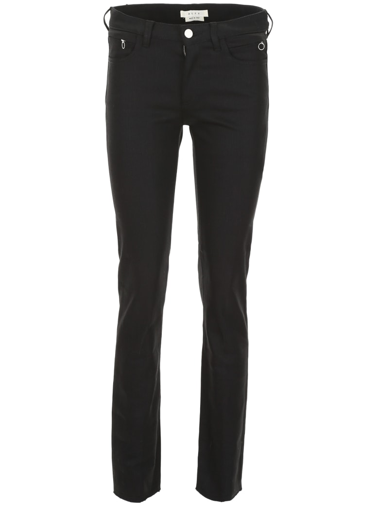 Alyx Jeans With Zip On The Back - BLACK (Black)